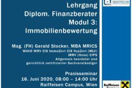 Immobilienbewertung Raiffeisen Campus Finanzberater Realbewertung Gerald Stocker