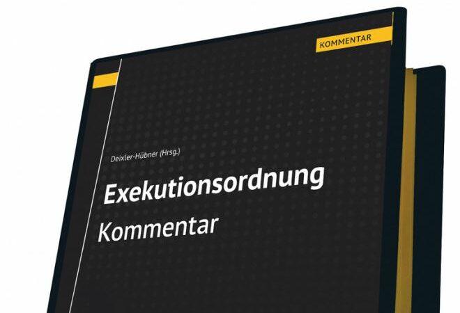 Exekutionsordnung Liegenschaftsbewertungsgesetz Kommentar Loseblatt Realbewertung Gerald Stocker