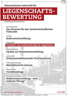 ZLB Reithofer Stocker Bodenwertermittlung Realbewertung Gerald Stocker