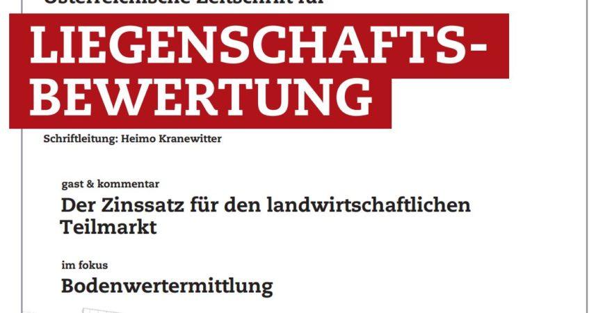 ZLB Reithofer Stocker Bodenwertermittlung Realbewertung Gerald Stocker Ausschnitt